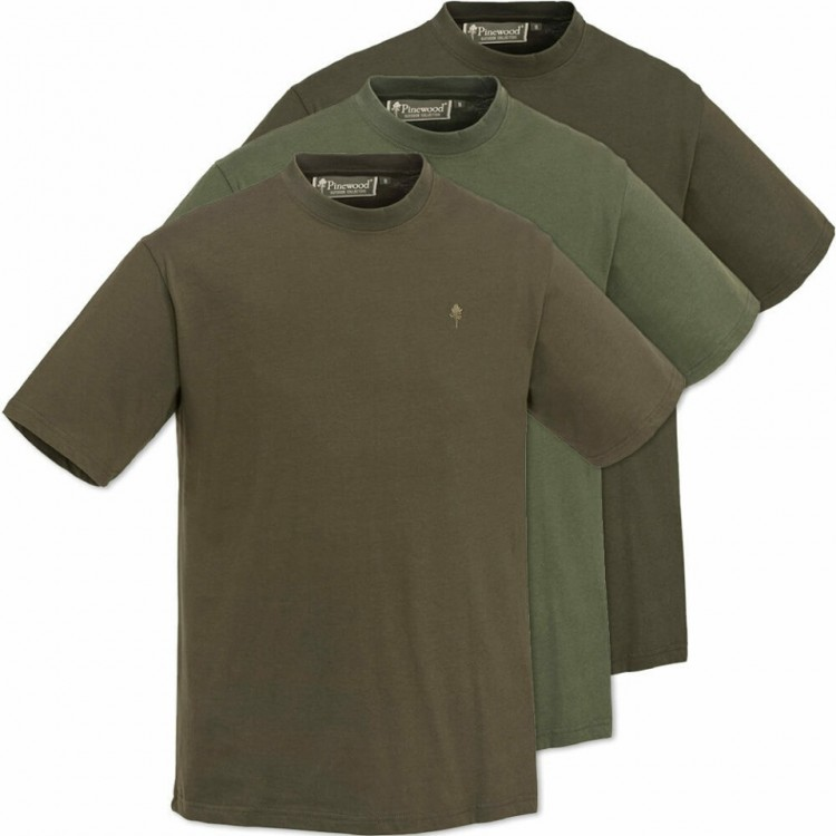 ΜΠΛΟΥΖΕΣ PINEWOOD T-SHIRT 5447 3 PACK (3TMX)